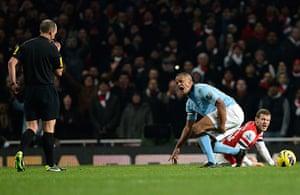 football1: Arsenal v Man City