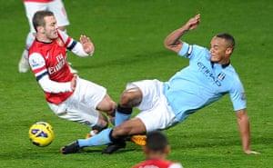 football2: Arsenal v Manchester City - Premier League