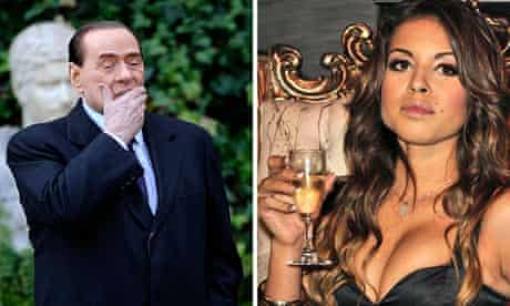 Silvio Berlusconi and Karima El Mahroug
