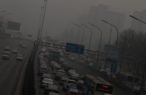 Air Pollution in China: Heavy smog envelops Beijing