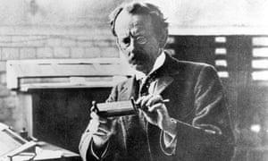 Sir Joseph J Thomson, discoverer of the electron