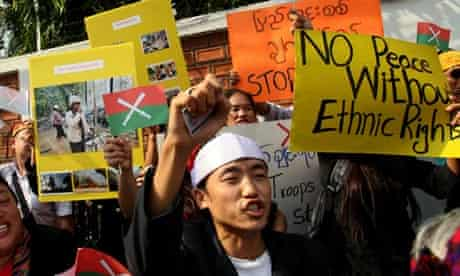 Kachin protesters
