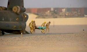 British soldier casualty