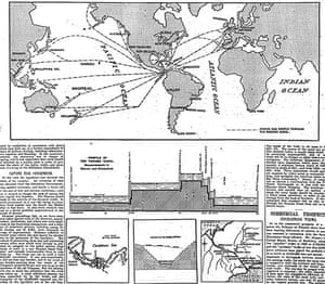 Guardian Graphic history: 1903 Panama Canal