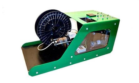 phootgraph of the Filabot machine