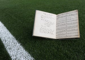 The FA's first official rule book