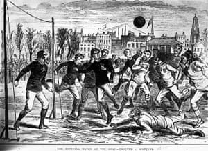 FA 150 years old: 2 Football Match