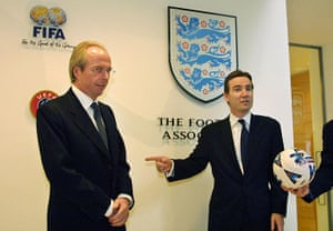 FA 150 years old: 26 Football Association Chief Executive Adam Crozier