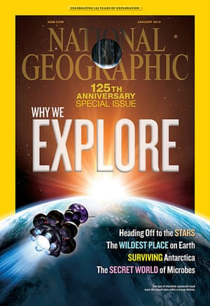 National Geographic: The cover of the January 2013 special anniversary issue