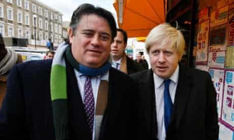 Stephen Greenhalgh and Boris Johnson