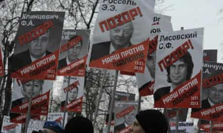 Thousands attend Moscow opposition rally