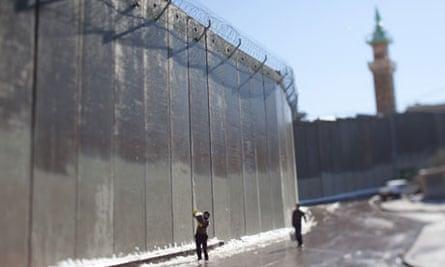 West bank separation barrier