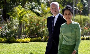 William Hague visits Myanmar
