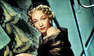 Marlene Dietrich in Stage Fright