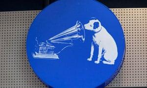 HMV record stores' logo