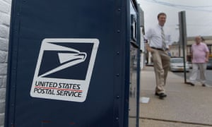 US Postal Service mailbox