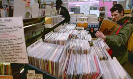 Rough Trade record shop in London