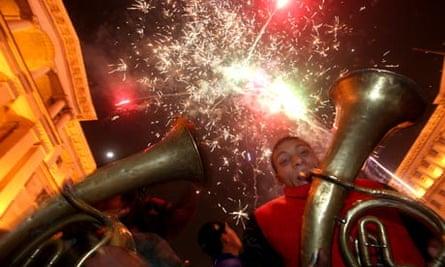 Bulgarians celebrate EU accession