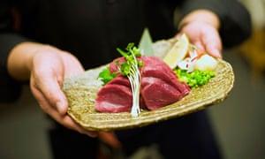 Raw horsemeat