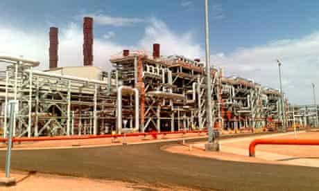 BP facility in Algeria