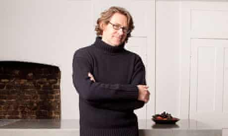 Nigel Slater at home in North London
