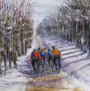 Share Your Art: Painting by Sue Barr