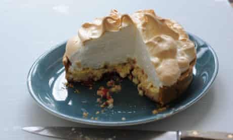 Rice pudding lemon meringue tart by Dan Lepard