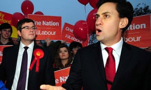 Ed at Corby by-election
