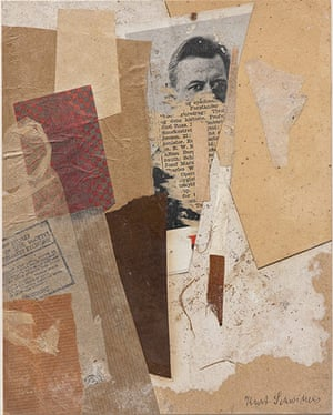 Kurt Schwitters at Tate: Untitled (With an Early Portrait of Kurt Schwitters)