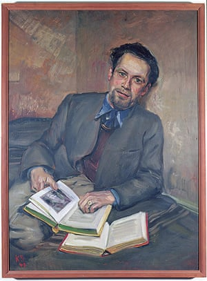 Kurt Schwitters at Tate: Untitled (Portrait of Fred Uhlman) 1940, Hatton Gallery