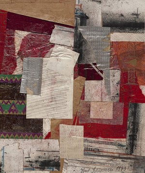 Kurt Schwitters at Tate: Untitled (Quality Street) 1943, Sprengel Museum, Hannover