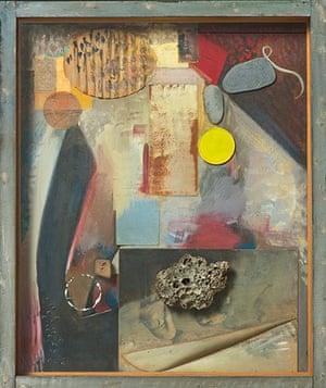 Kurt Schwitters at Tate: Irgendetwas mit einem Stein (Anything with a Stone) 1941-4