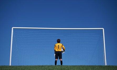 A football post