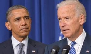 Vice President Joe Biden introduces President  Obama