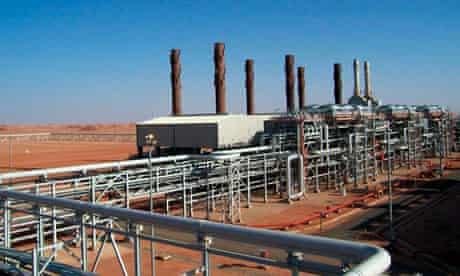 Algerian gas field Ain Amenas
