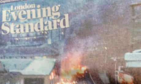 Evening Standard crash pic