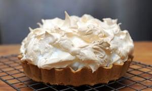 Dan Lepard's lemon meringue pie recipe