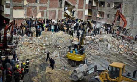 Apartment building collapse, Alexandria