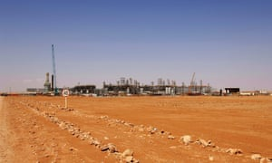 The In Amenas gas field, jointly operated by British oil giant BP, Norway's Statoil and state-run Algerian energy firm Sonatrach, in eastern Algeria where Islamist militants are holding 41 western hostages.