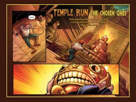 Temple Run comic