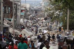 Haiti: 2010 post earthquake