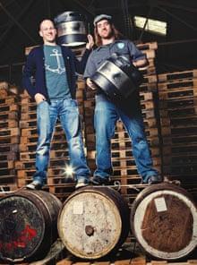 James Watt and Martin Dickie of Brewdog