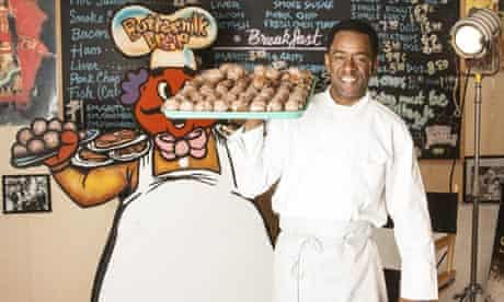 Dwight Henry, actor and owner of New Orleans' Buttermilk Drop Bakery