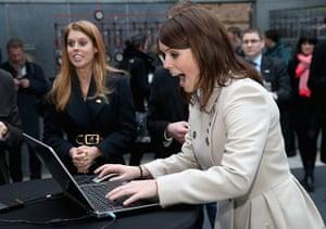 Berlin visit: Princesses visit e-commerce company Zalando