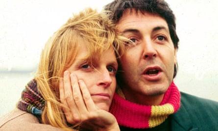 Sir Paul McCartney, and his late wife, Linda, in 1980