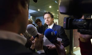 Dutch finance minister Jeroen Dijsselbloem is hoping to become the next head of the Eurogroup of eurozone finance ministers.