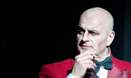 Christopher Purves (Mephistopheles) in The Damnation Of Faust by Hector Berlioz