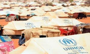Malians at UN refugee camp