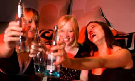 Girls in Bar/Nightclub having fun