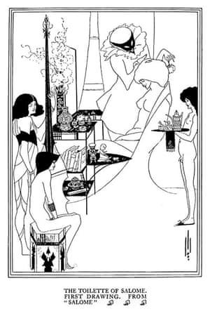 Rest is Noise: Aubrey Beardsley's illustration of The Toilette of Salome